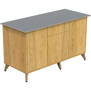 Ligni Credenza with Central Drawers