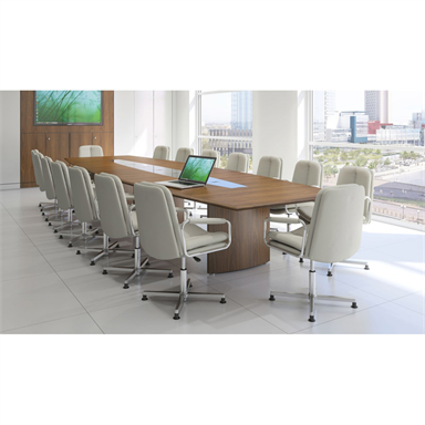 Fulcrum Wing Base Boardroom Table
