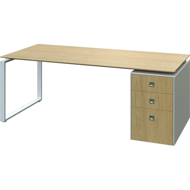 Fulcrum CE Straight Desk